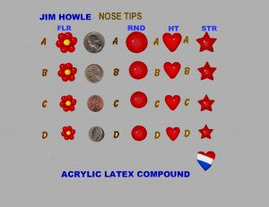 Noses Jim Howle<br>Nose Tips