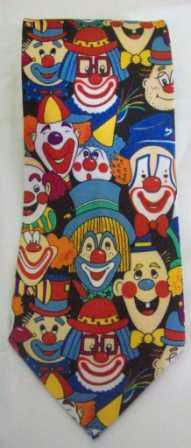Ties Clown Face - Long