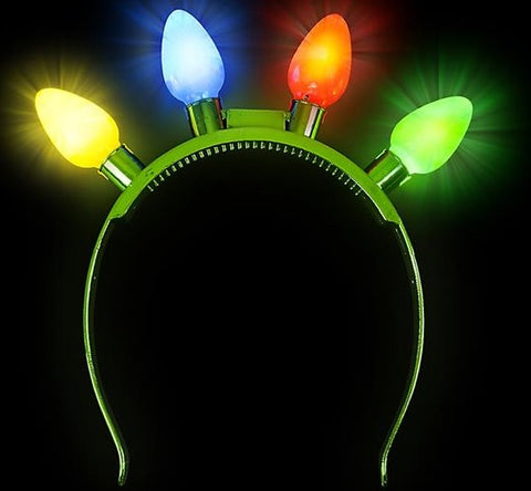 Headband w/light up bulbs
