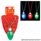 Necklace w/light up bulbs