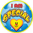 STICKERS AA014   I Am Special