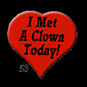 STICKERS BB0053 I Met A Clown Today<br>discontinued - See AA053