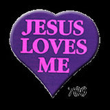 STICKERS BB0700 Jesus Loves Me