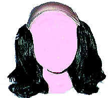 WIG<BR>BALD TRAMP LONG <BR>BEN FRANKLIN