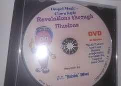Clearance- <br>Revelations through Illusions DVD