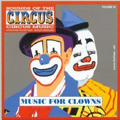 Music CD<br>Music for Clowns and Calliope