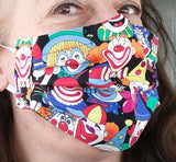 Hospital Masks by DENISE -<br> with interface and nose pinch <BR>