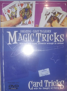Clearance- <br>Card Tricks DVD