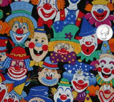 Fabric<br>Clown Faces