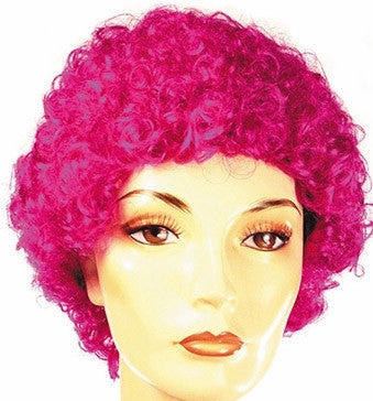 WIG<BR>Curly Clown Short (FD)