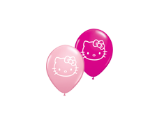 "Balloons - Round<br>5"" Hello Kitty"
