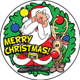STICKERS AA051<br>Merry Christmas  200 ct