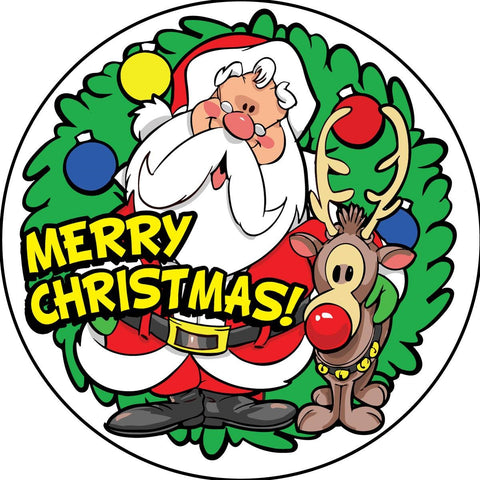 STICKERS AA051<br> Merry Christmas