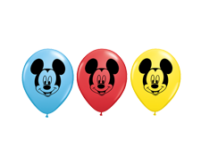 Balloons Round<br>Mickey Mouse
