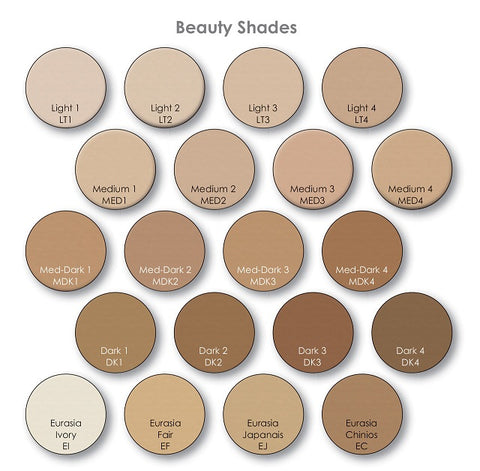 Makeup - Mehron<BR>Celebre Pressed Powder Foundation