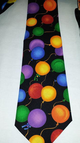 Ties Balloons/Black - Long