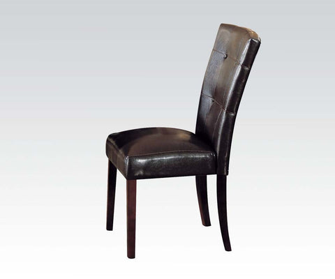 HAVANA FOA-CM3849SC ESPRESSO SIDE CHAIR SET OF 2