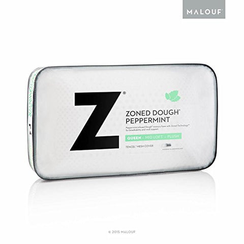 MALOUF ZONED DOUGH + PEPPERMINT PILLOW