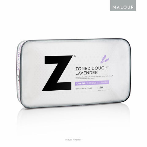 MALOUF ZONED DOUGH + LAVENDER PILLOW