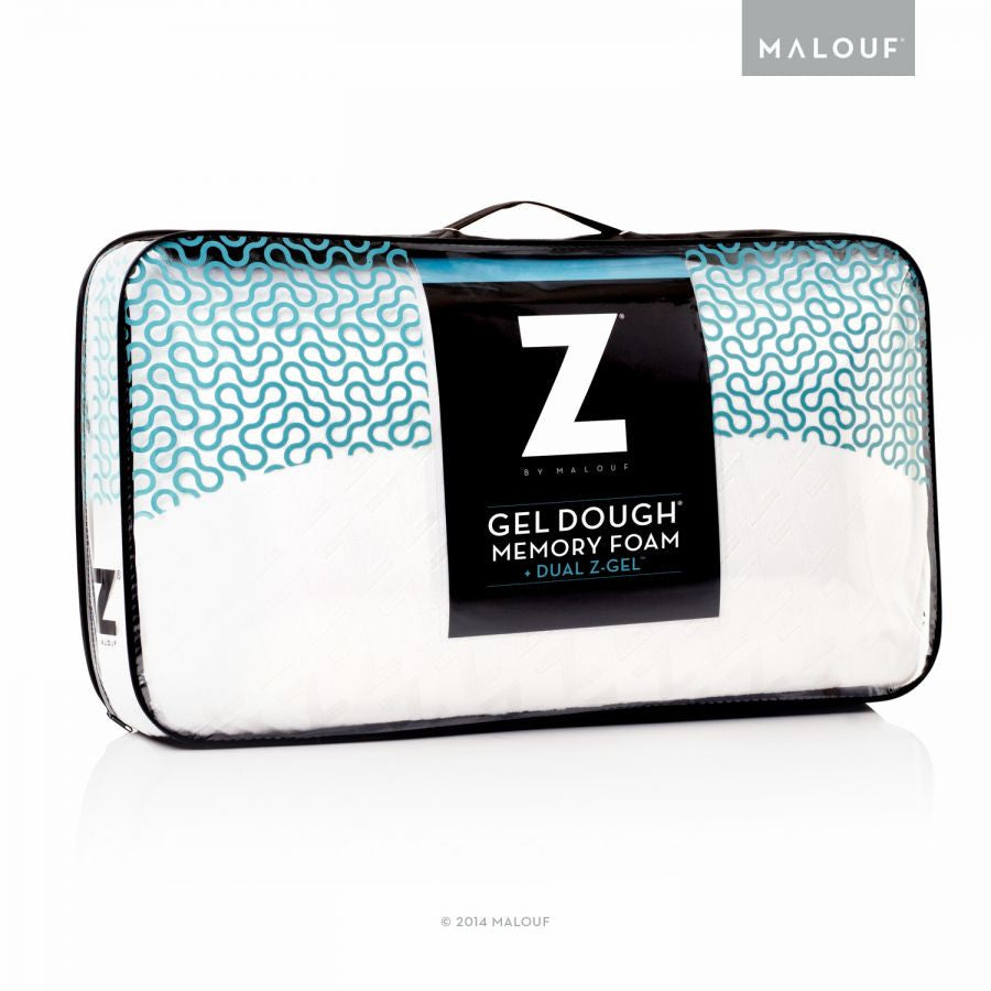 MALOUF GEL DOUGH MEMORY FOAM + DUAL Z GEL PILLOW