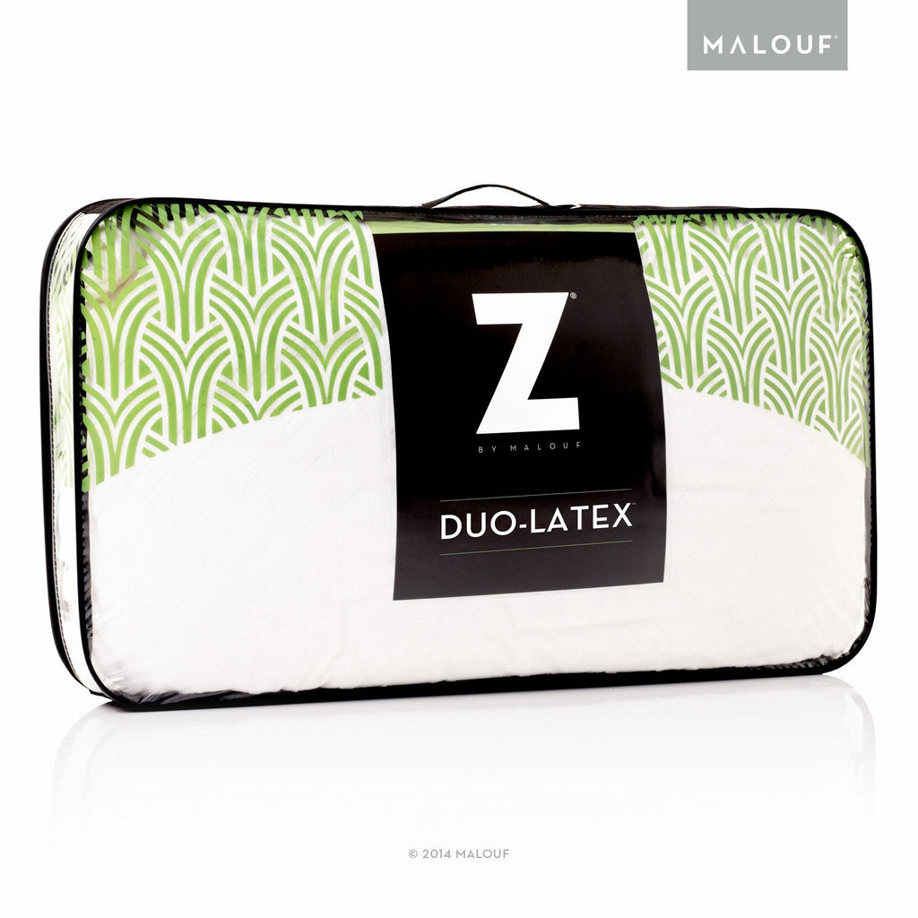 MALOUF DUO-LATEX PILLOW