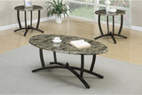 POUNDEX F3103 3-PCS COFFEE TABLE SET