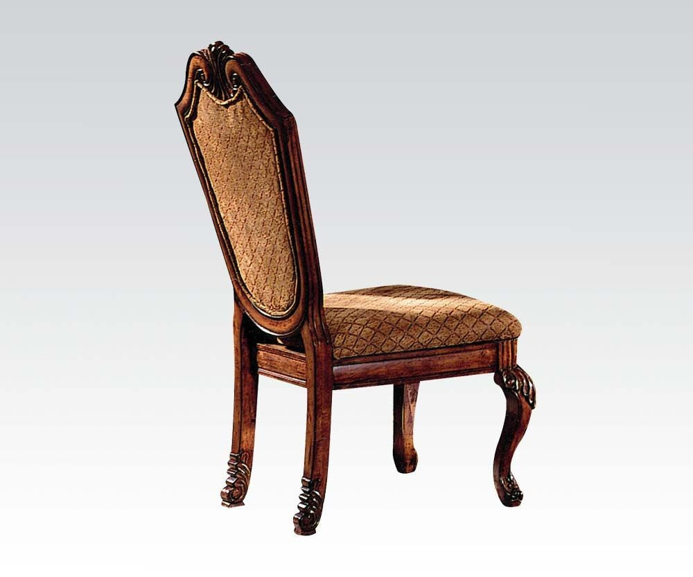 AC04077 CHATEAU DE VILLE CHERRY SIDE CHAIR SET OF 2
