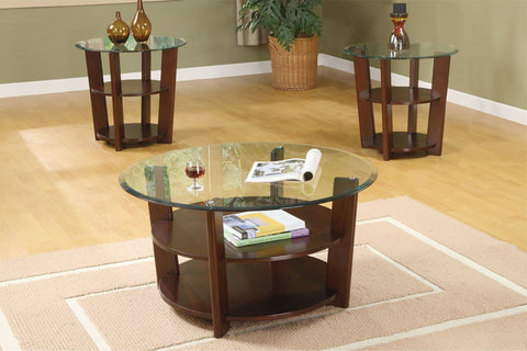 POUNDEX F3108 3-PCS COFFEE TABLE SET