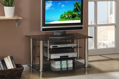 POUNDEX F4546 CHERRY WOOD TV STAND