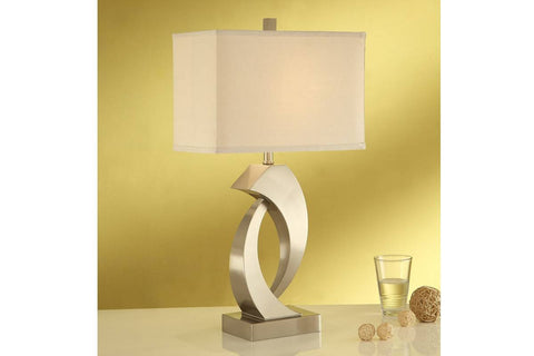 F5377 GOLDEN METAL LAMP SET OF 2
