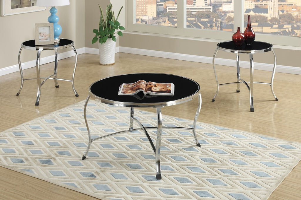 POUNDEX F3096 3-PCS COFFEE TABLE SET