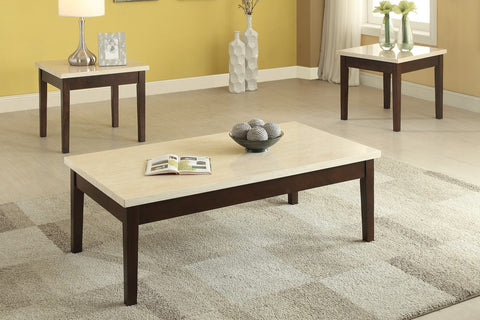 POUNDEX F3126 3-PCS COFFEE TABLE SET