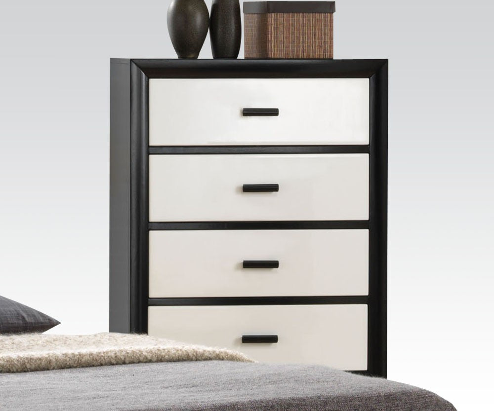 ACME 20616 DEBORA BLACK AND WHITE CHEST