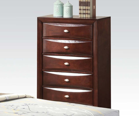 AC21456 IRELAND ESPRESSO 5-DRAWER CHEST