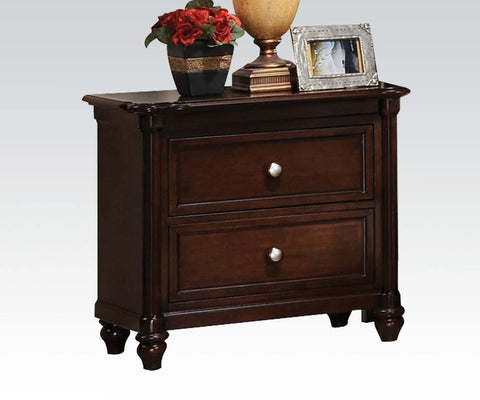 ACME 22383 AMARYLLIS CHERRY 2-DRAWER NIGHT STAND