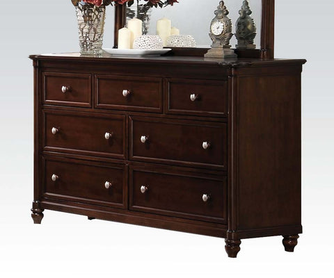 ACME 22385 AMARYLLIS CHERRY 7-DRAWER DRESSER