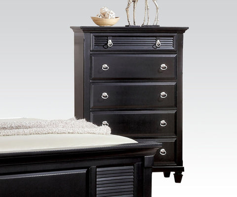 AC22446 TRANSITIONAL MERIVALE BLACK CHEST