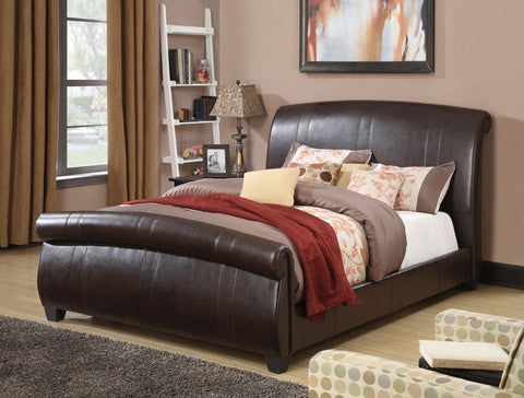 ACME 24330Q HAMMETT ESPRESSO PU QUEEN BED