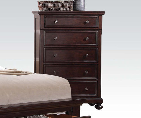 AC24616 GRAYSON TRADITIONAL DARK WALNUT CHEST