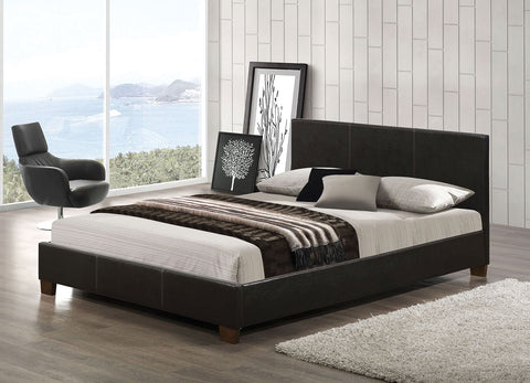 ACME 24750Q FELISIA ESPRESSO PU QUEEN BED