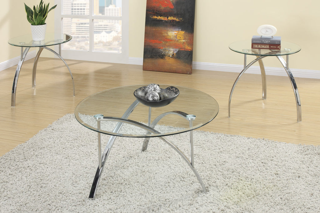 POUNDEX F3098 3-PCS COFFEE TABLE SET