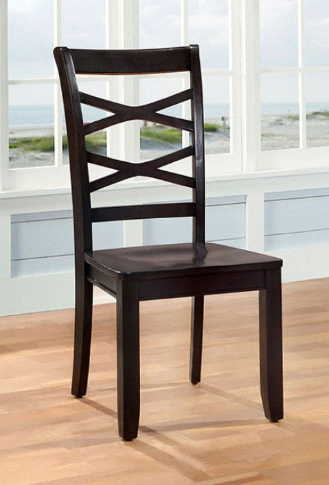 CONTEMPORARY ESPRESSO SIDE CHAIR FOA-CM3528EX-SC