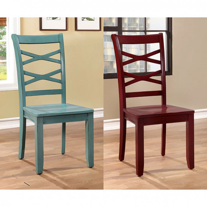 CONTEMPORARY SIDE CHAIR FOA-CM3528RB-SC SET OF 2