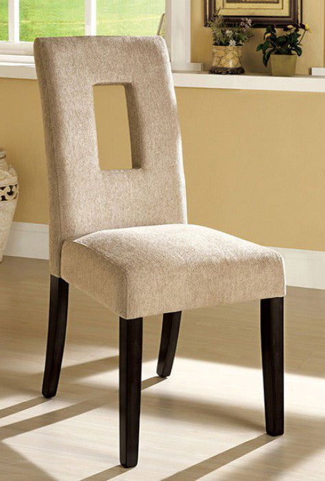 FOA-CM3625SC WEST PALM I ESPRESSO SIDE CHAIR SET OF 2