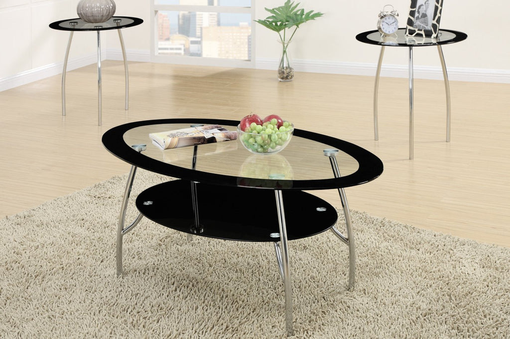 POUNDEX F3099 3-PCS COFFEE TABLE SET