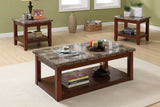 POUNDEX F3135 3-PCS COFFEE TABLE SET