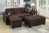 3PCS SECTIONAL WITH FREE OTTOMAN PD6927