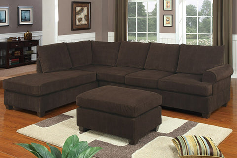 2PCS REVERSIBLE SECTIONAL PD7135