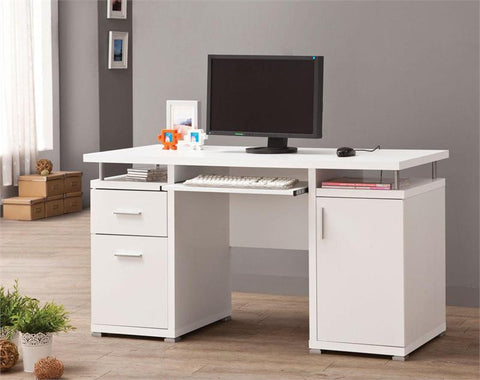 CT800446 DIVISION L-SHAPE COMPUTER DESK UNIT