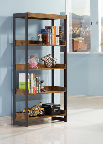 CT801213 CONTEMPORARY STYLE ENEDINA OPEN BOOKCASE